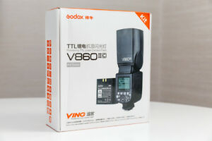 GODOX FLASH V860II VING TTL for CANON/NIK/SONY ( LITHIUM)