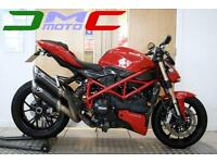 2012 Ducati Streetfighter 848 Red 7,809 Miles 2 Owners Termignoni Exhaust