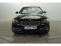 2013 BMW 5 Series 520D MODERN Diesel black Manual