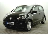 2013 Volkswagen UP HIGH UP Petrol black Manual