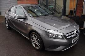 Mercedes A180 CDI BLUEEFFICIENCY SPORT-1 OWNER FROM NEW-HALF LEATHER TRIM-CRUISE