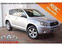 2007 Toyota RAV4 2.2 D-4D 134BHP XT-R-1 OWNER-FULL SERVICE HISTORY-SUNROOF-