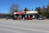 Gas Station with Auto repair shop