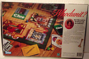 1998 Clue Board Game-complete London Ontario image 2