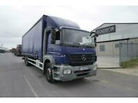 Mercedes-Benz Atego 2529 6X2 RIGID CURTAINSIDE TRUCK WITH TAIL LIFT