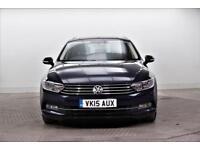 2015 Volkswagen Passat SE BUSINESS TDI BLUEMOTION TECHNOLOGY Diesel blue Manual