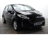 2014 Ford Fiesta ZETEC Petrol black Automatic