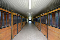 Horse Stalls available Legacy Lane Stables