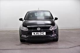 2015 Volkswagen Polo SE DESIGN TDI BLUEMOTION Diesel black Manual