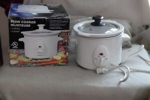 1.5 Quart Slow Cooker perfect for one person!