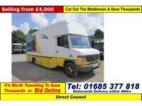 2006 - 06 - MERCEDES 814 D 7.5TON 4X2 LIBRARY (GUIDE PRICE)