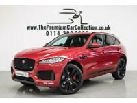 2017 Jaguar F-Pace V6 S AWD PAN ROOF VIRTUAL COCKPIT SAT NAV 22s Auto Estate Die