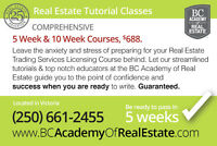 Comprehensive Real Estate Courses (VICTORIA/DUNCAN)