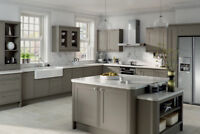 Kitchen Renovations:  Kitchen Cabinets with Granite Countertops