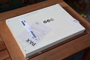 IKEA PAX Shelves, white, Brand New in Package (Qty 8)