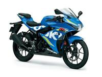 2018 SUZUKI GSX-R125 IN STOCK NOW AT GH MOTORCYCLES - 3% APR FINANCE £33 DEPOSIT