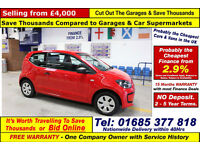 2013 - 63 - VOLKSWAGEN UP 1.0 TAKE UP 3 DOOR HATCHBACK (GUIDE PRICE)