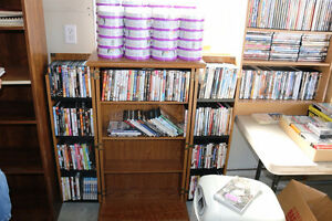 DVDs CDRs BOOKS RECORDS CRAFT SUPPLIES ANTIQUES GLASS FURNITURE