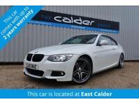 2010 10 BMW 3 SERIES 335I M SPORT 2D 302 BHP DCT