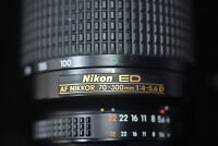 Nikon 70-300 F4 lens