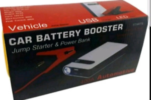 NEW 3 IN 1 CAR BOOSTER, POWER BANK & LED LIGHT