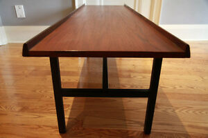 Teak COFFEE TABLE/BENCH - Scandinavian Modern/ MCM Design