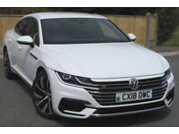 Volkswagen ARTEON R-LINE 2.0 TSI 190ps AUTO Dsg : 2018 Demo Model in White