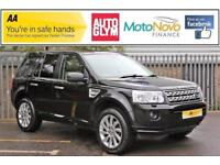 2012 Land Rover Freelander 2.2 SD4 HSE 4x4 5dr Diesel black Automatic