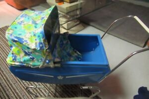Vintage Toy Baby Buggy