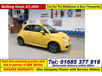 2015 - 15 - FIAT 500 1200 S 3 DOOR HATCHBACK (GUIDE PRICE)