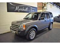 2007 07 LAND ROVER DISCOVERY 3 2.7 3 TDV6 XS 5D AUTO 188 BHP 7 SEATS DIESEL