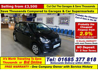 2014 - 64 - VOLKSWAGEN UP TAKE UP 1.0 PETROL 3 DOOR HATCHBACK (GUIDE PRICE)