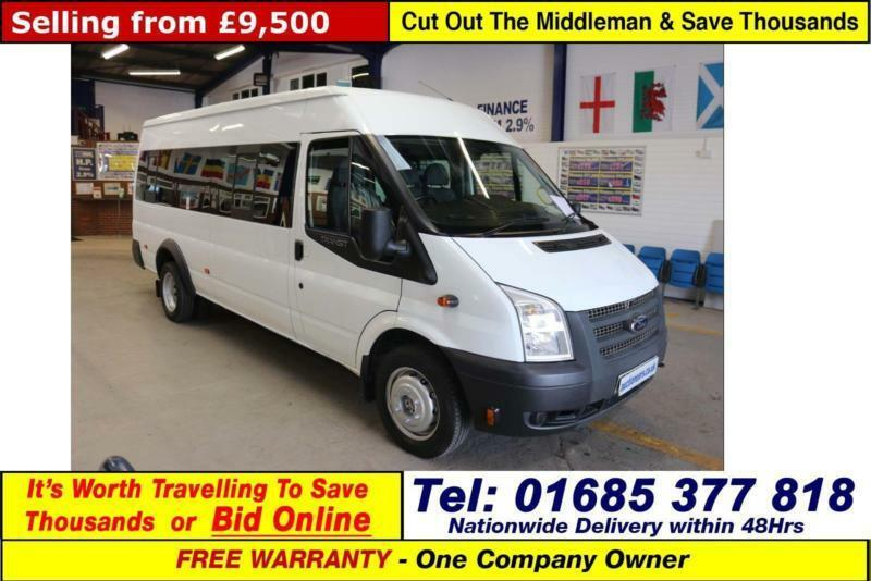 294cf115d3 2014 - 14 - FORD TRANSIT T430 2.2TDCI 135PS 17 SEAT MINIBUS (GUIDE PRICE)