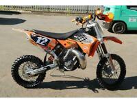 KTM SX 65 2010 MOTOCROSS BIKE PART EXCHANGE TO CLEAR