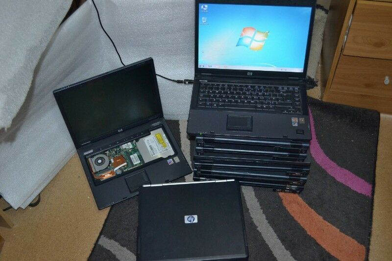 10 x HP Working Laptops
