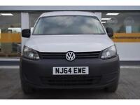 2014 64 Volkswagen Caddy Maxi 1.6TDI GOOD & BAD CREDIT CAR FINANCE AVAILABLE