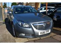 GOOD CREDIT CAR FINANCE 2011 61 VAUXHALL INSIGNIA 2.0CDTi AUTO 4x4 ELITE ESTATE