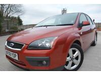 FORD FOCUS ZETEC CLIMATE 1.6 16V 5 DOOR*FULL 12 MONTHS MOT*2 OWNERS*AIR CON*