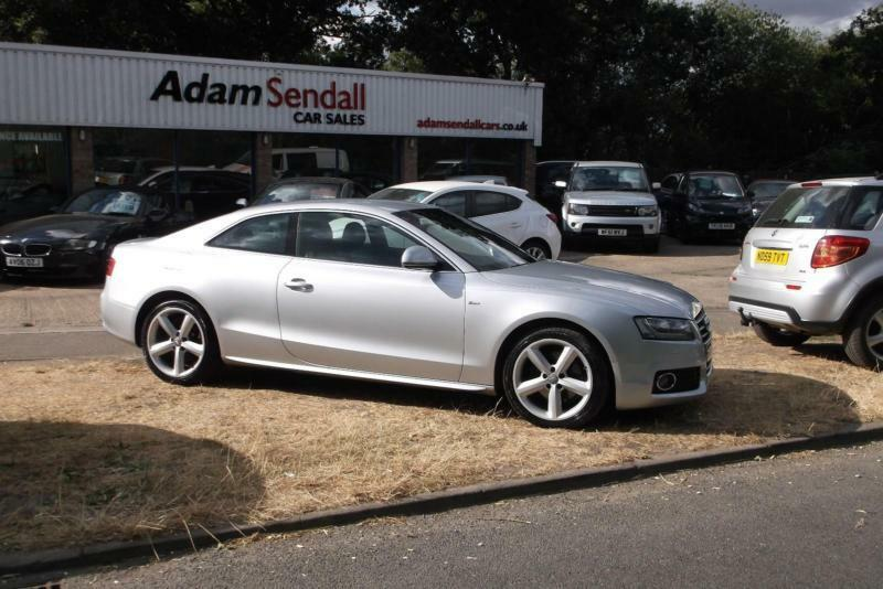 Audi A5 2 0TDI S LINE,2009,09 Reg,Silver,Black Leather,VERY CLEAN  CAR,FINANCE | in Lincoln, Lincolnshire | Gumtree