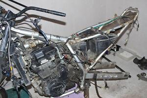 Moteur de KLR 650 complet