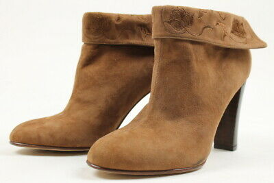 Huma Blanco x Anthropologie Womens Morena Boots Brown 38 Euro (Women US 7-7.5) N