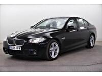 2014 BMW 5 Series 520D M SPORT Diesel black Automatic