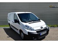 2015 Toyota Proace 2.0 HDi 1200 L2H1 5dr Diesel white Manual