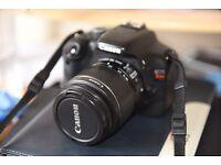 Canon EOS 550D / Rebel T2i 18.0MP Digital SLR Camera - Black (Kit w/ EF-S IS ii 18-55mm Lens)