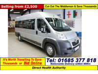 2010 - 10 - PEUGEOT BOXER 2.2 7 SEAT OH BODY PTS VEHICLE (GUIDE PRICE)