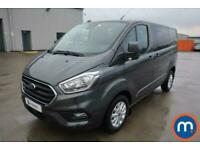 2020 Ford Transit Custom 2.0 EcoBlue 170ps Low Roof D-Cab Limited Van Crew Bus D