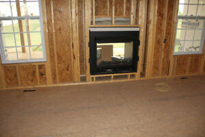 Two-Way Fireplace - Natural Gas