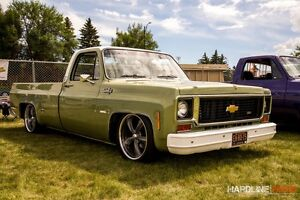 Fully restored 1973 C10 ALBERTA pick up with NOS