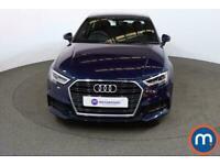 2018 Audi A3 1.5 TFSI S Line 4dr S Tronic Auto Saloon Petrol Automatic