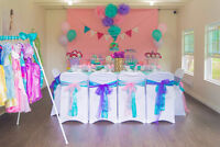 NO HST on all Set up Princess Party Packages! We do it all!